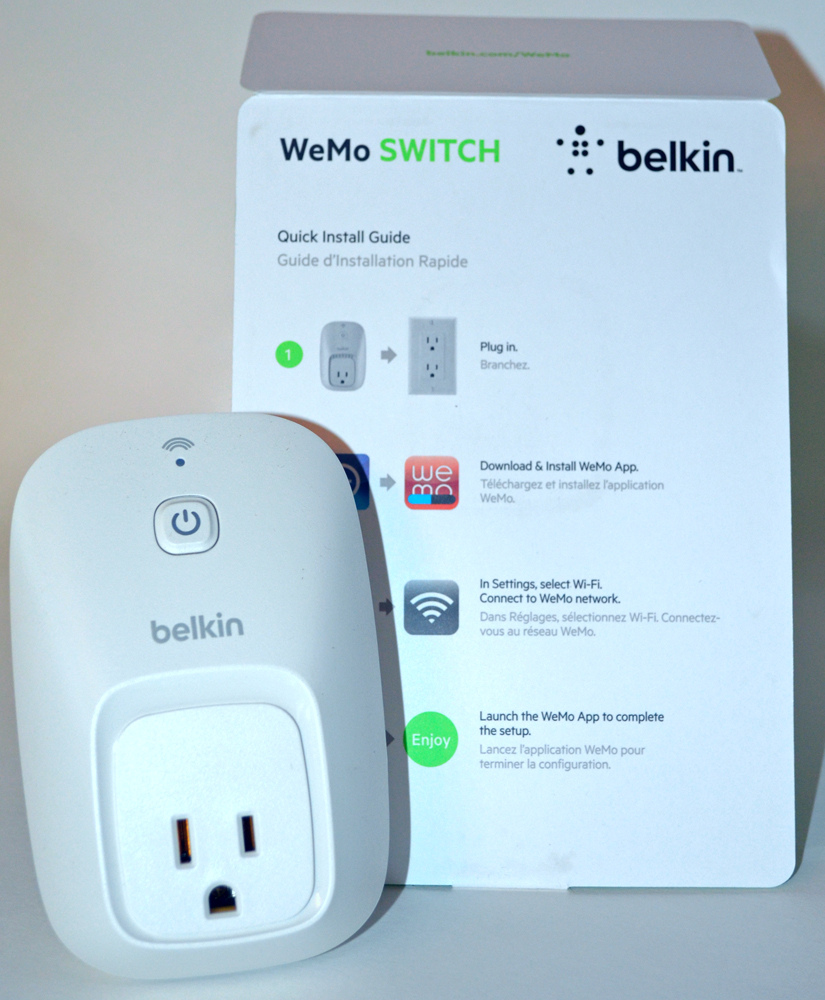 belkin wemo baby monitor manual