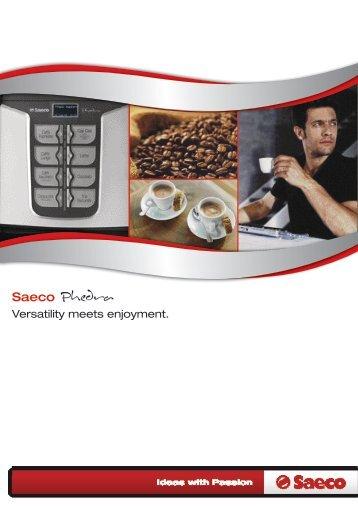 saeco talea giro coffee machine manual