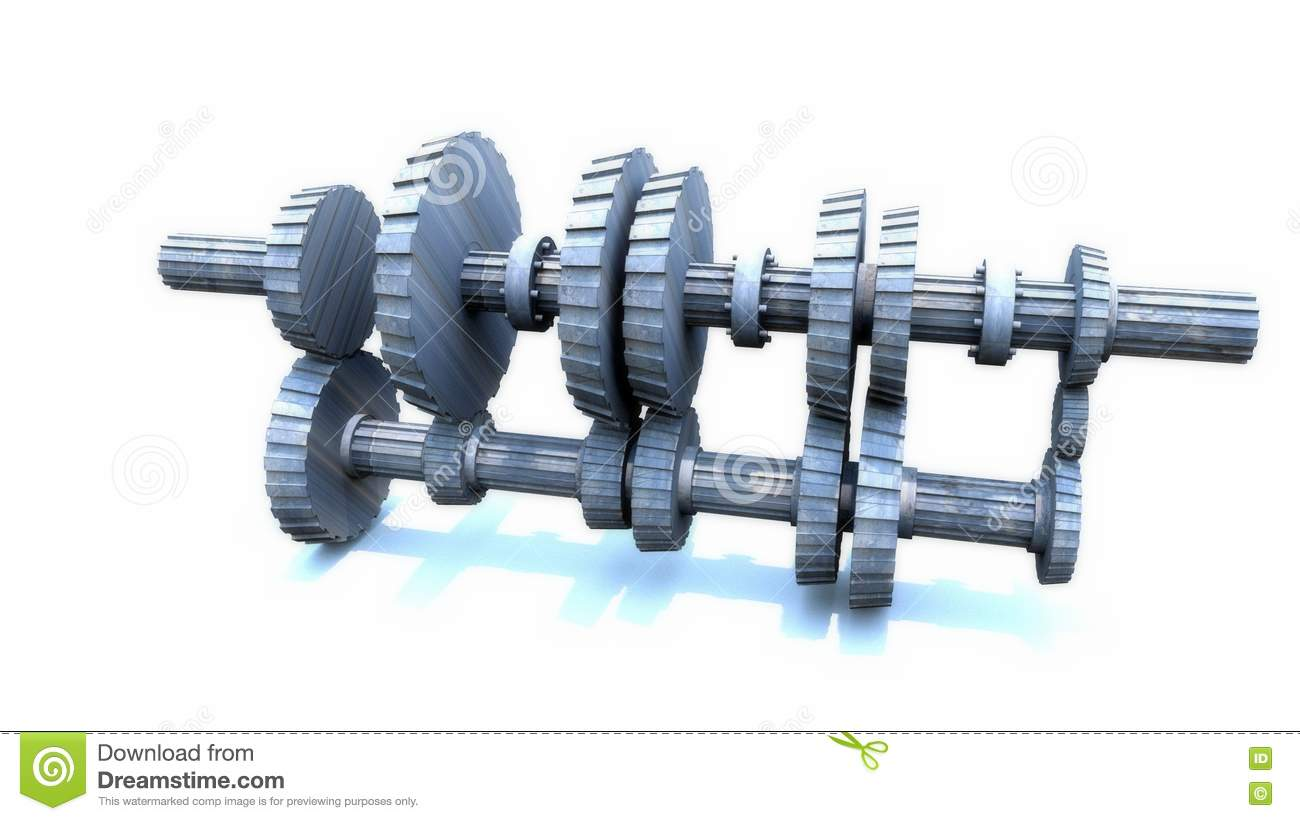 how does a manual car transmission work