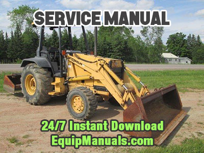 ford 555d backhoe service manual free download