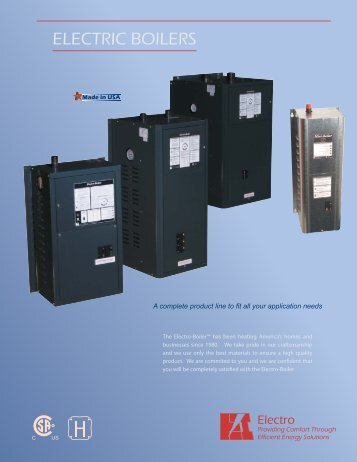 electro boiler ts series manual