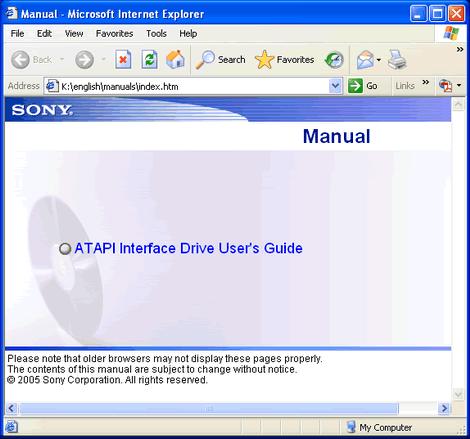 install manual for nar o