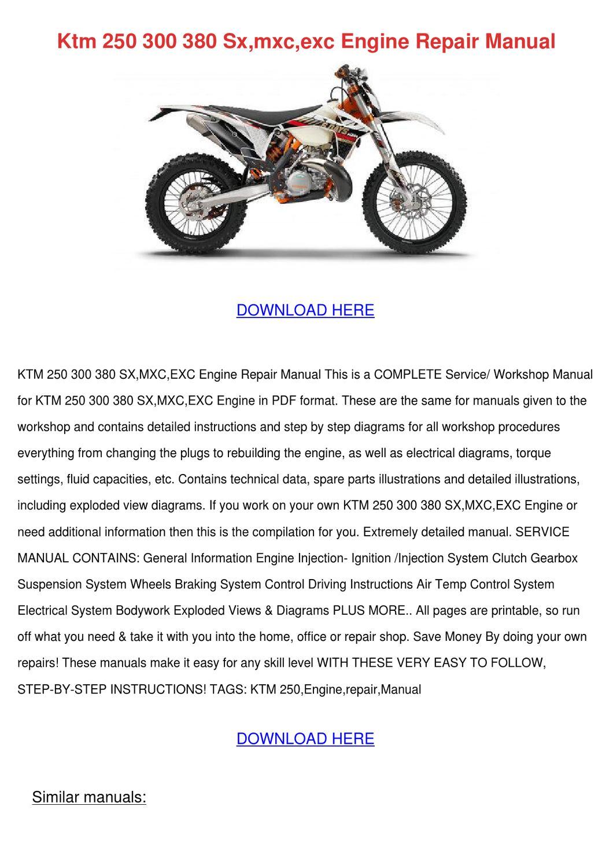 250 rotax engin shop manual