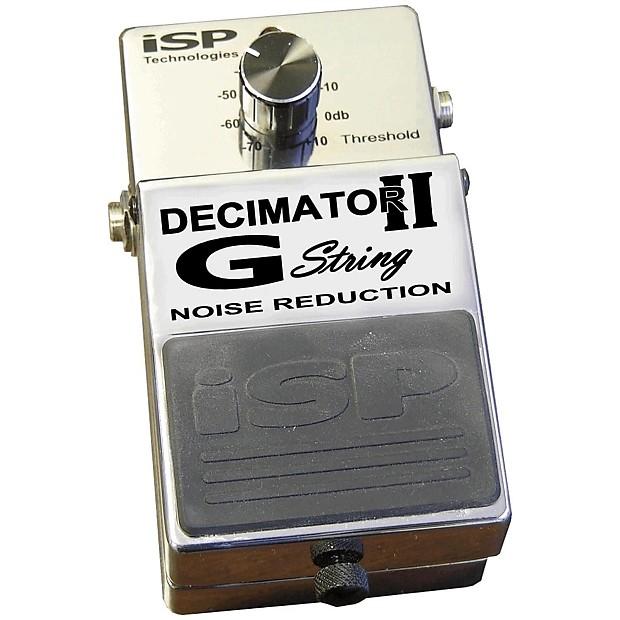 isp decimator prorack g rackmount manual