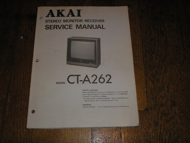 akai ea-a7 user manual