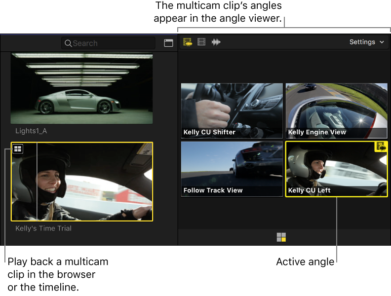 can i manually add clips to multicam clip fcp