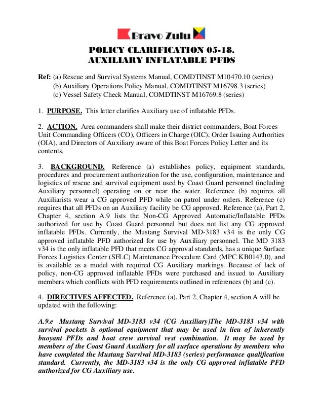uscg auxiliary vessel safety check manual