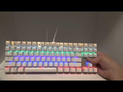 team wolf 87 key keyboard manual