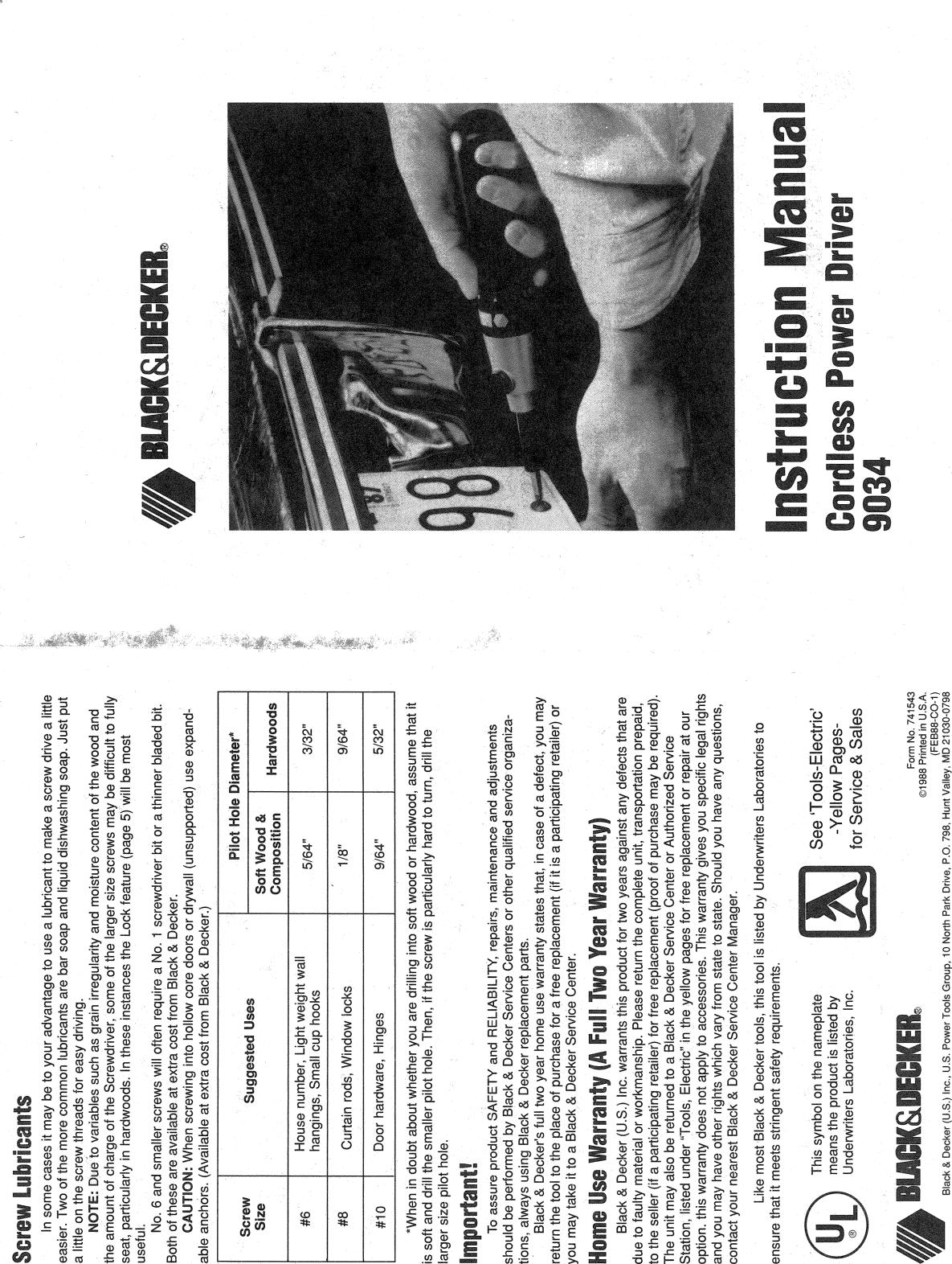 black and decker lpht120 manual
