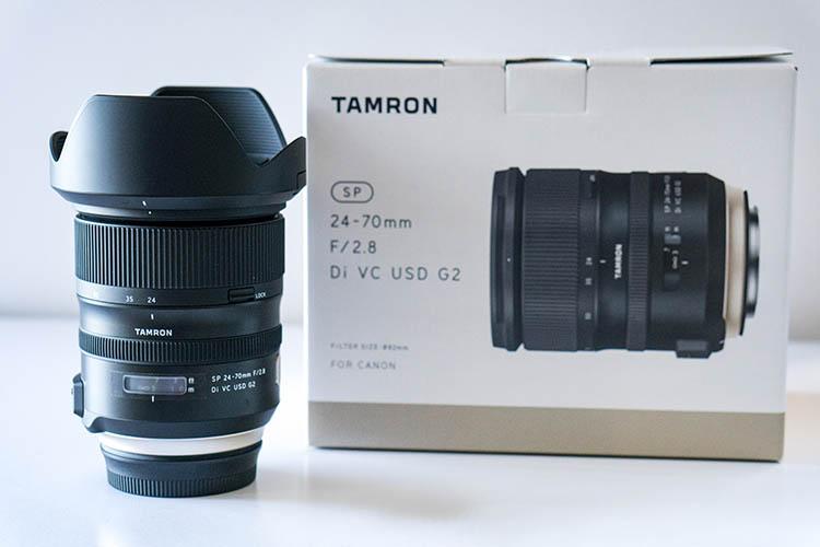 tamron 24-70mm f 2.8 sp di usd g2 manual
