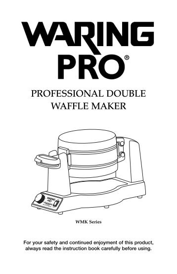 cuisinart classic round waffle maker manual