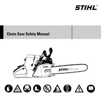 stihl ms 250 maintenance manual