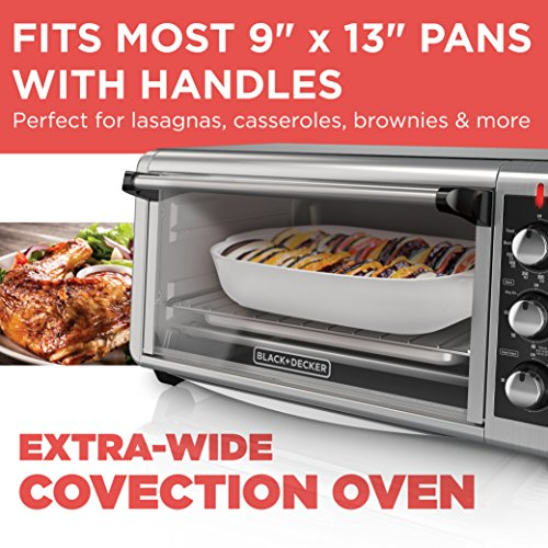 8-slice extra-wide toaster oven user manual