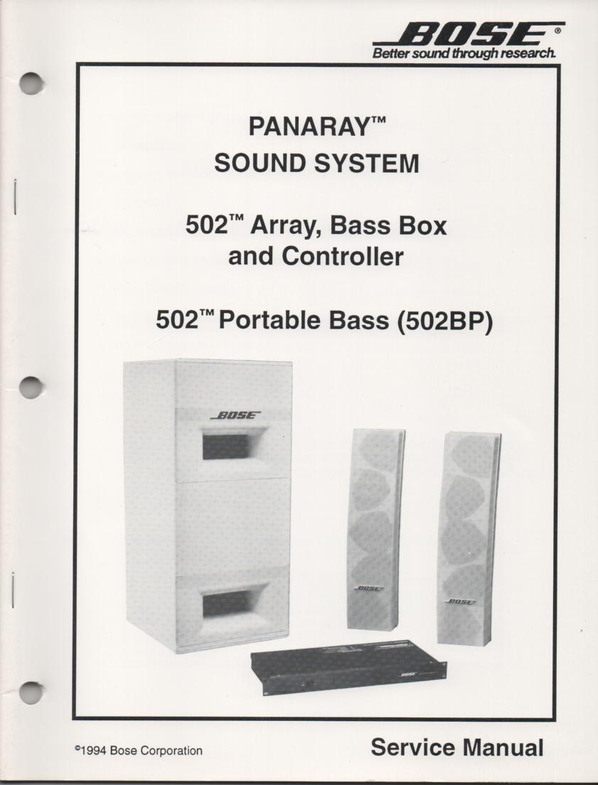 fennec it 502 service manual