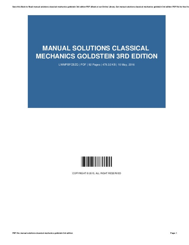 introduction to classical mechanics solutions manual pdf