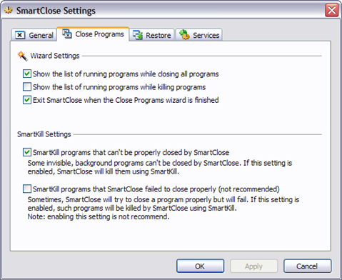 manually remove service windows 10
