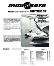 minn kota riptide parts manual