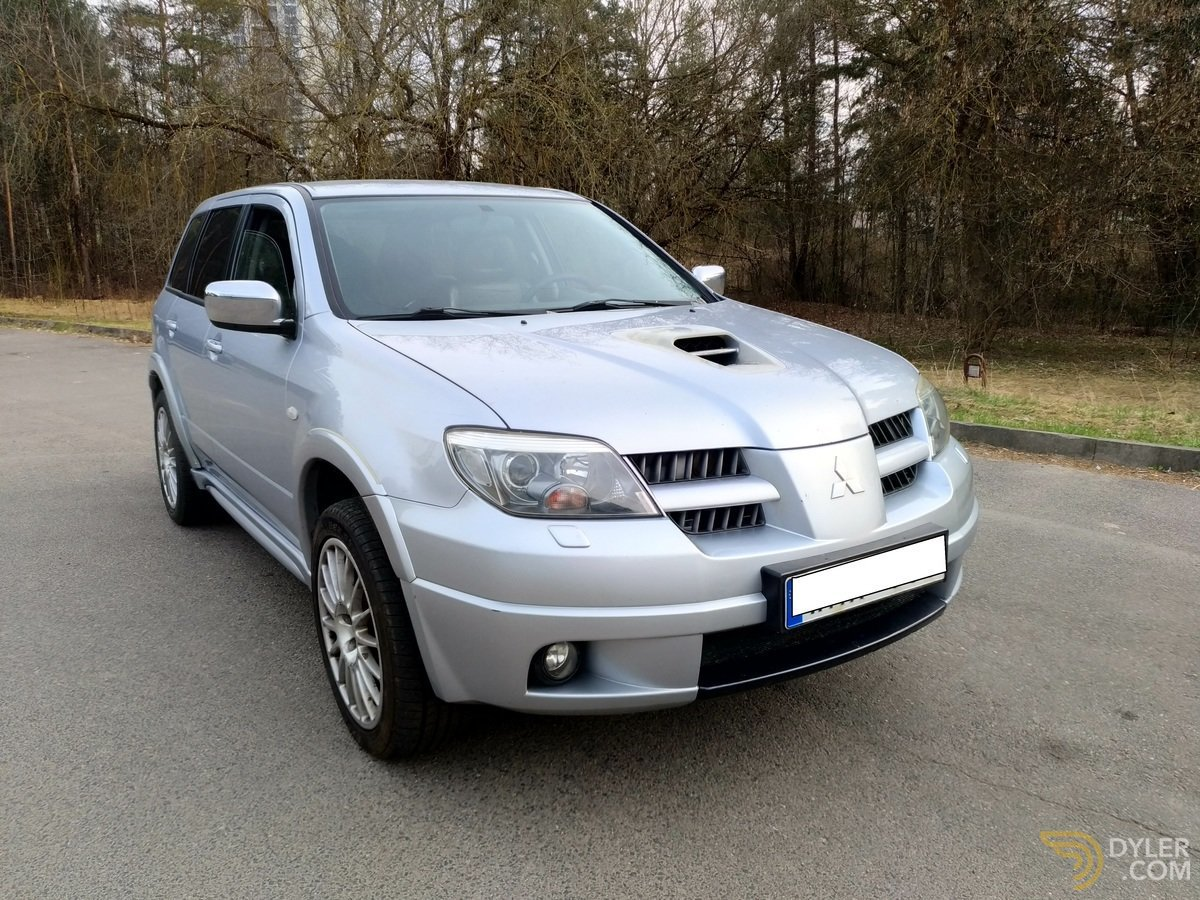 mitsubishi outlander manual for sale