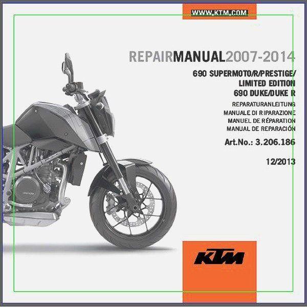 ktm 1190 r service manual