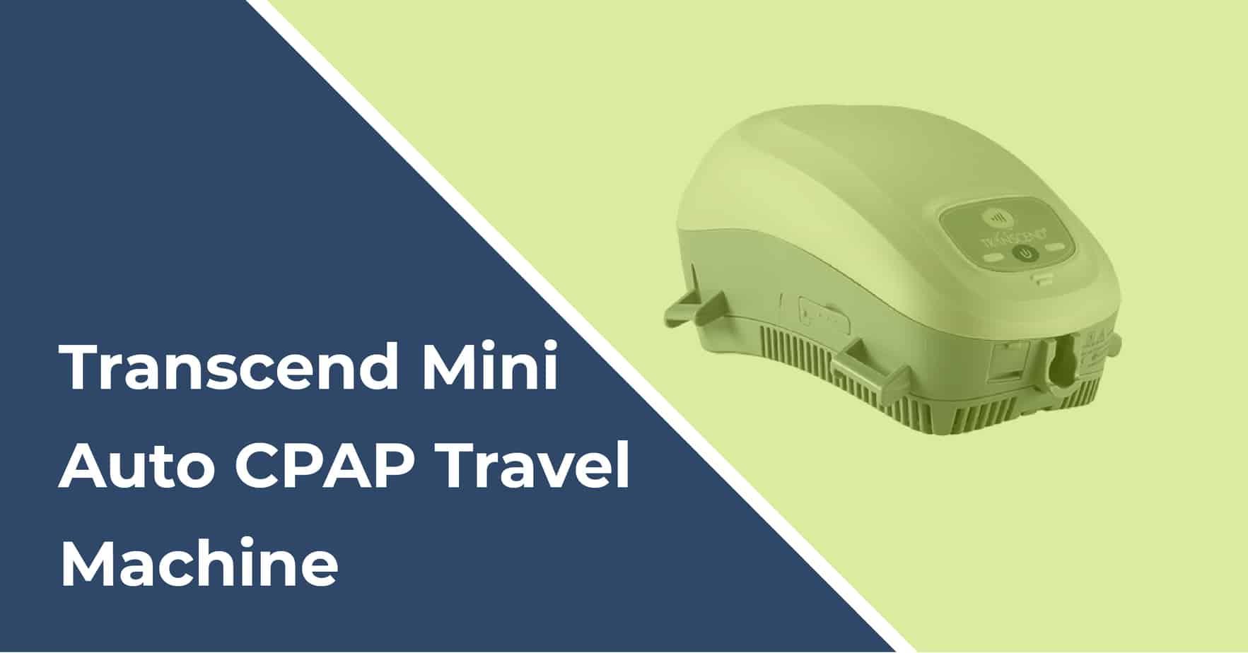 transcend auto mini travel cpap manual