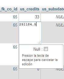 mysql manually set row value in query