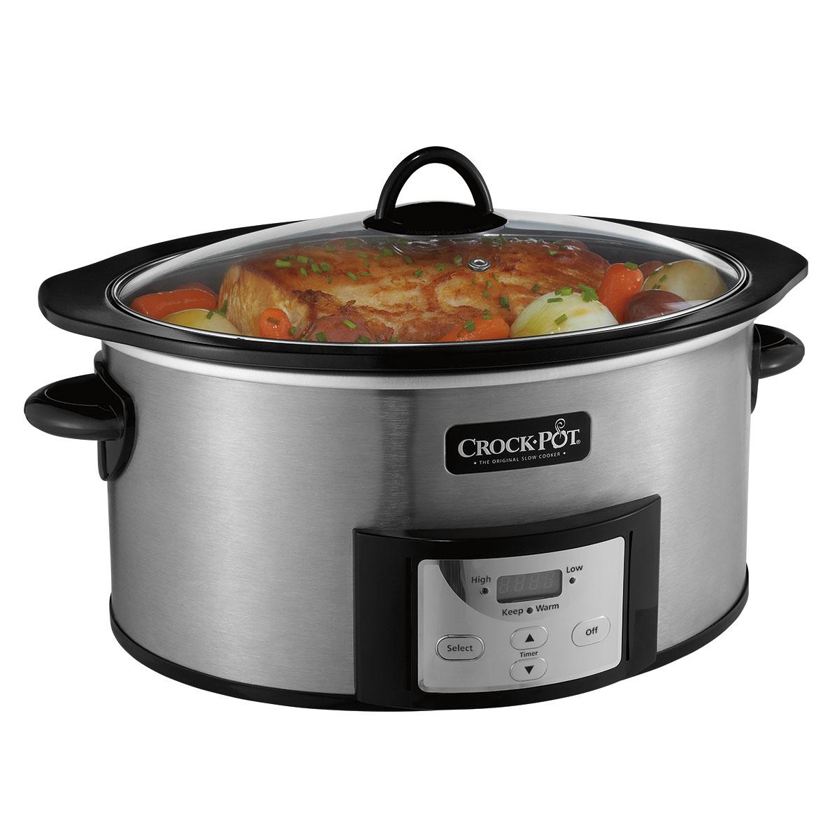 crock pot 8 quart slow cooker manual