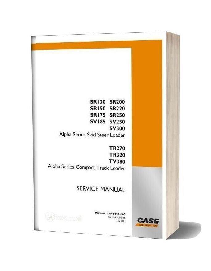 case tv380 skidsteer service manual