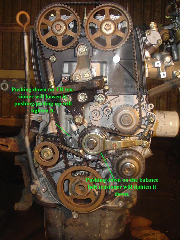 manual timing belt tensioner h22