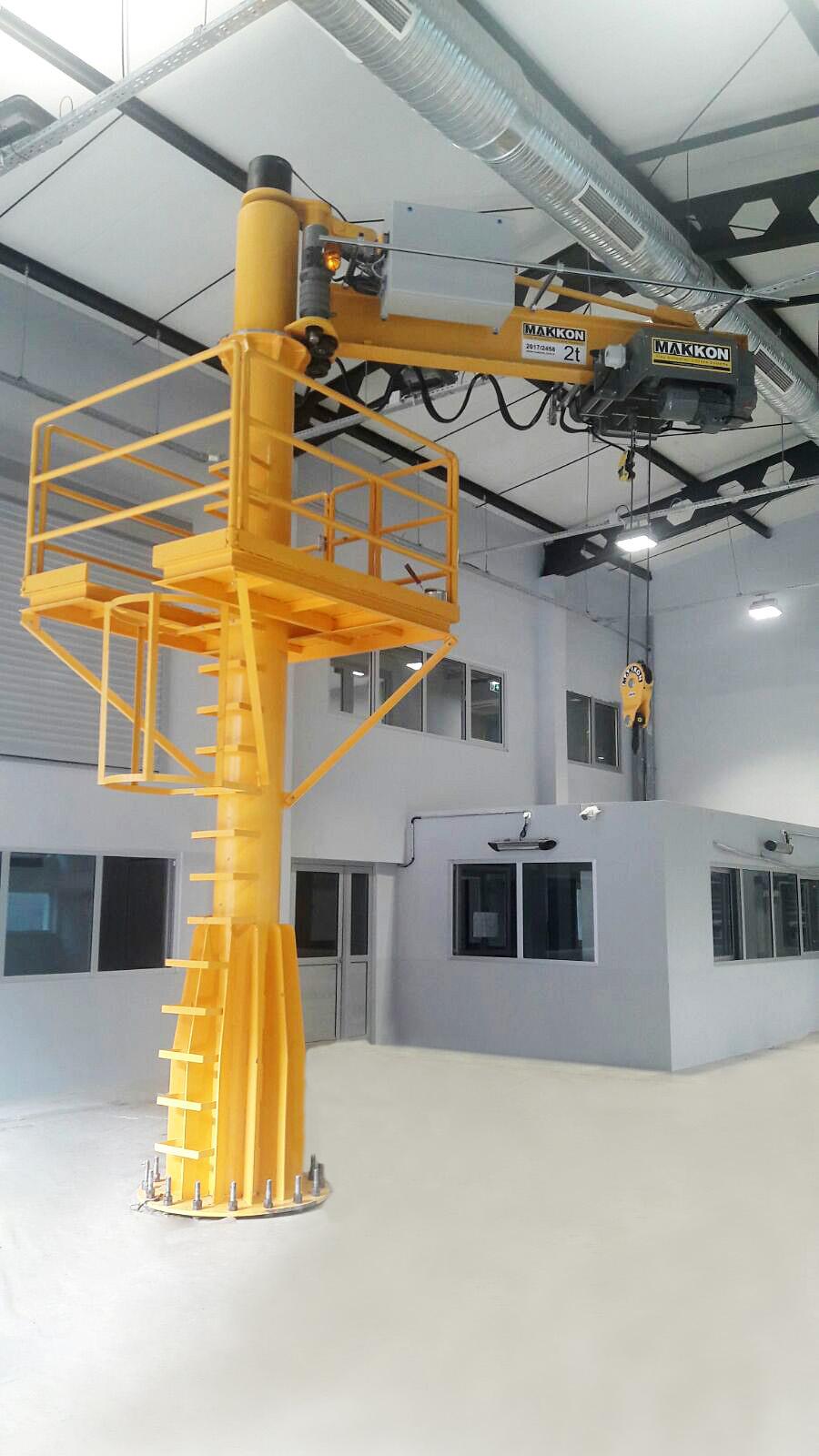 dayton jib crane installation manual