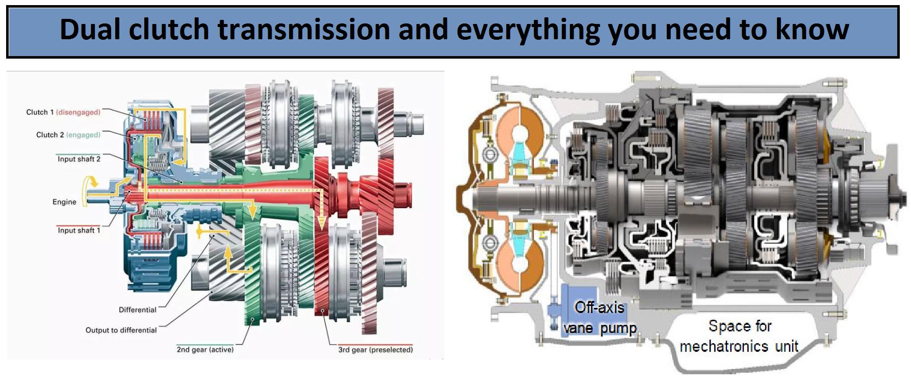 comparison manual transmission vs automatic double clutch