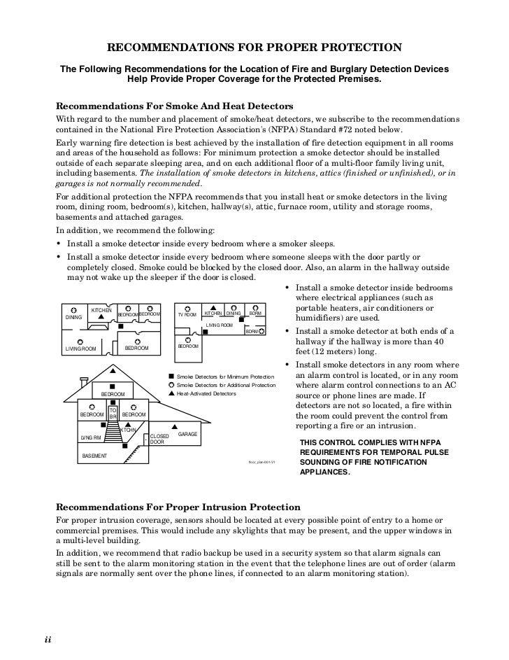 honeywell installation manual vista 21ip