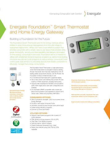 energate thermostat manual energy event