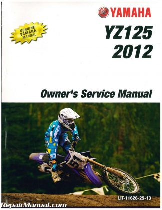2011 yz 125 owners manual