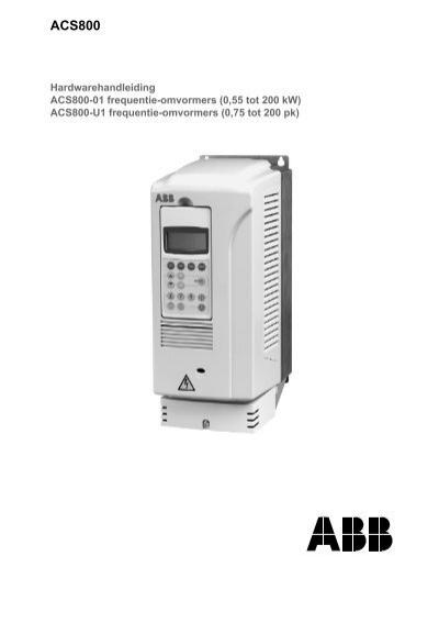 abb acs800-01 hardware manual