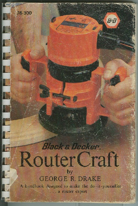 black and decker router manuals