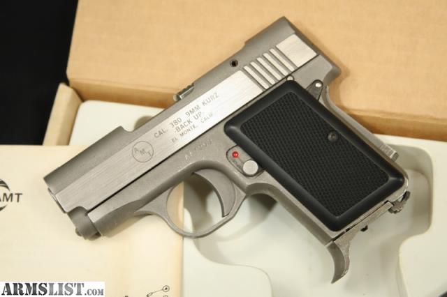 amt 380 9mm kurz backup manual