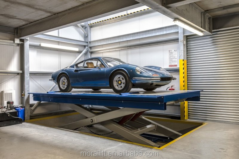 automated parking garage lift installation manual