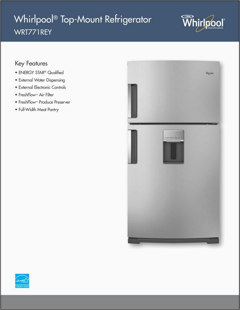 whirlpool gold fridge manual w10329836