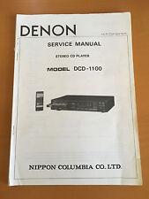 denon dcd 3000 service manual