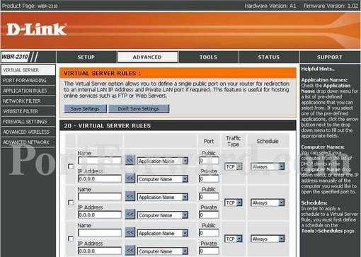 router d-link wbr-2310 manual