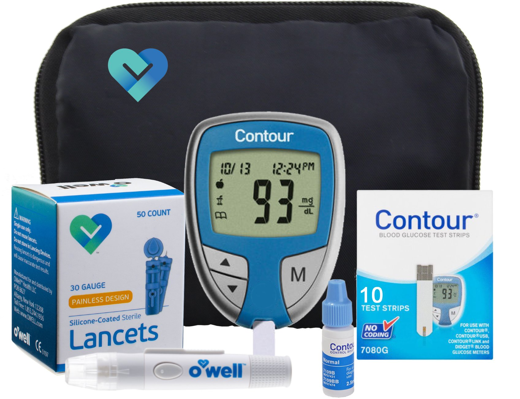 bayer contour link blood glucose meter manual