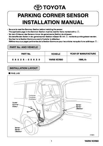 toyota yaris 1999 service manual pdf