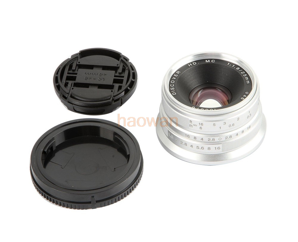 cheap manual focus wide angle lens