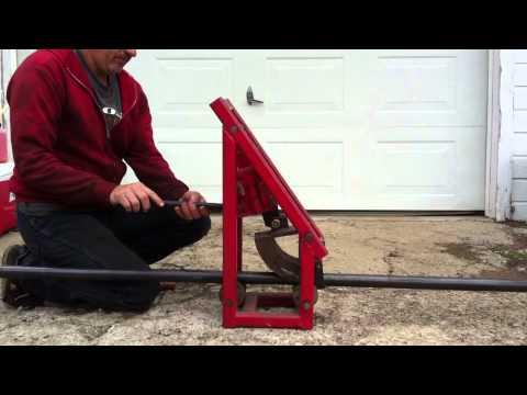 12 ton hydraulic manual pipe bender