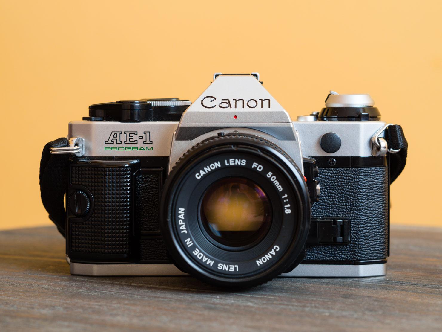 canon ae-1 manual loading film