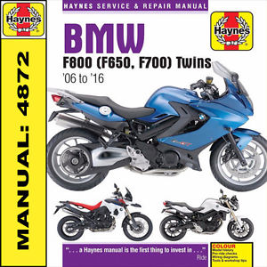 bmw f800 st owners manual