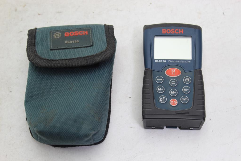 bosch dlr130 laser distance measurer manual
