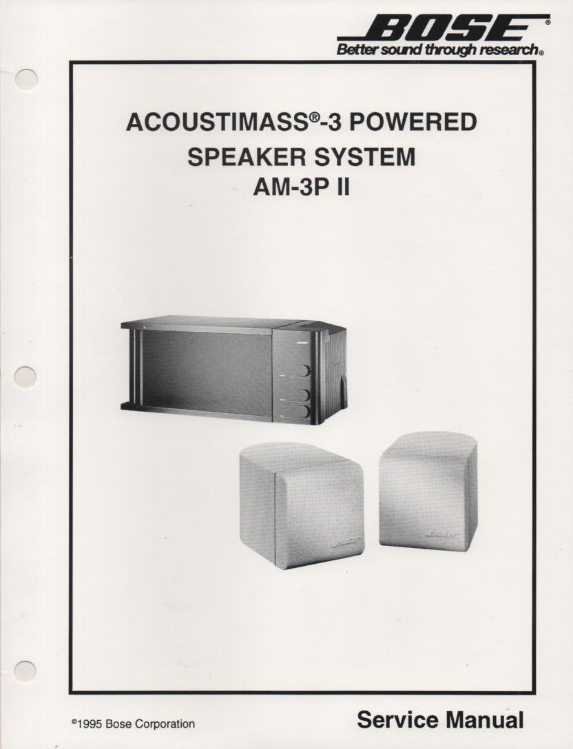bose acoustimass 15 series manual
