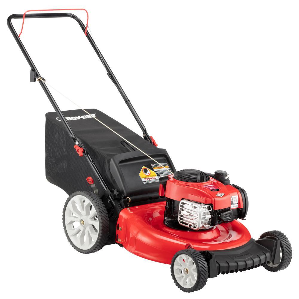 briggs & stratton push mower manual