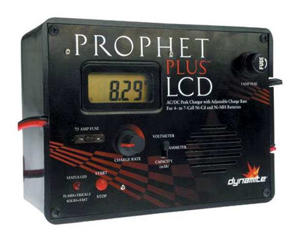prophet plus lcd charger manual
